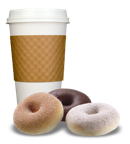 coffee donuts