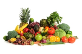 fruit and vegetables 4 in