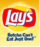 Image result for lays betcha can't eat just one